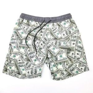 ...Lost  $$$ Hazard Green Benjamin Boardshorts M